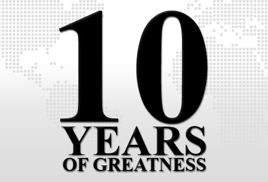 10 Years of Greatness